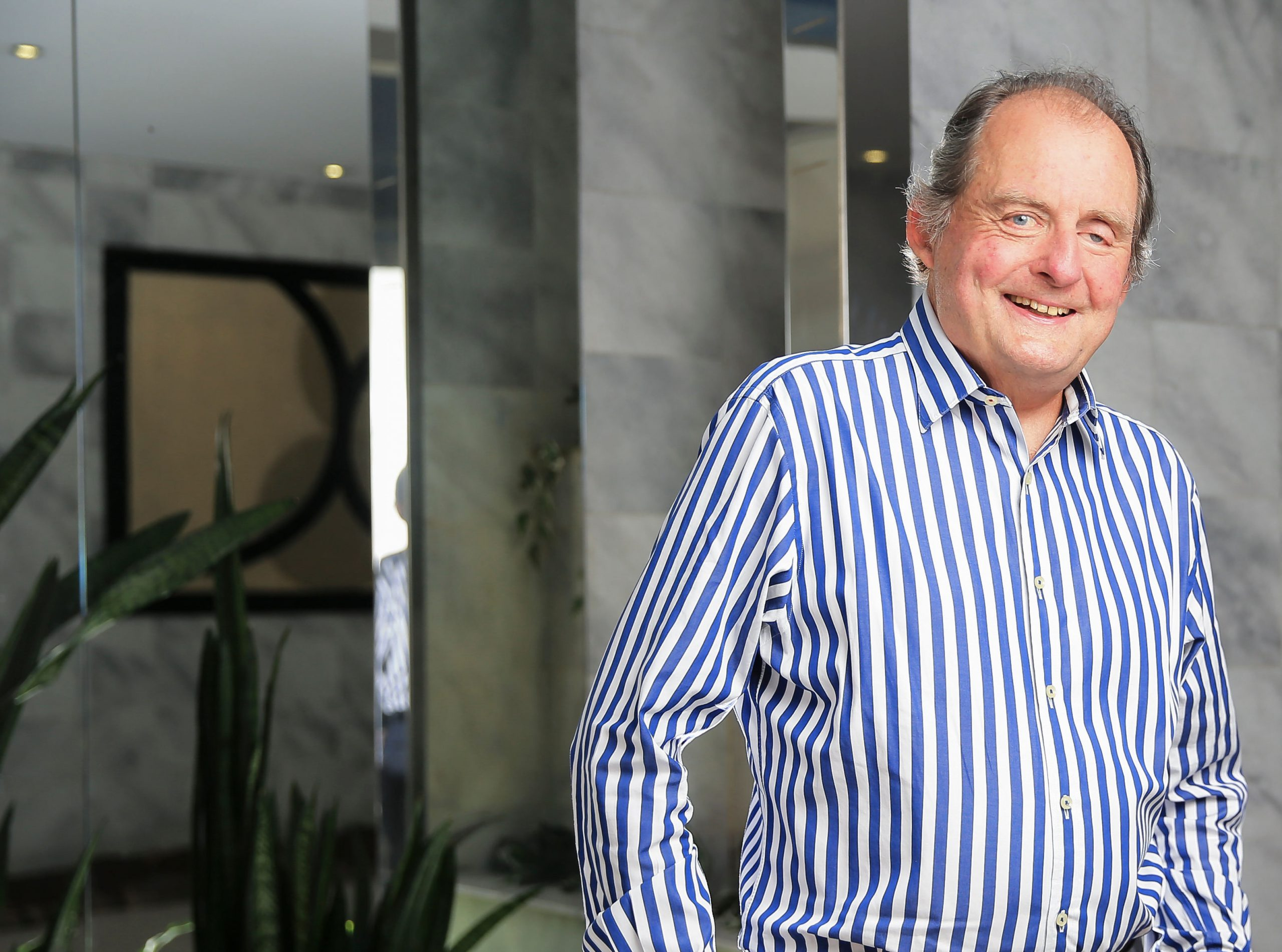 Cancer-survivor John Fordham, pictured, has teamed up with the doctor who saved him, professor Thomas Havas, to create the Head and Neck Cancer Foundation to improve research and diagnostics. Picture: Dylan Robinson